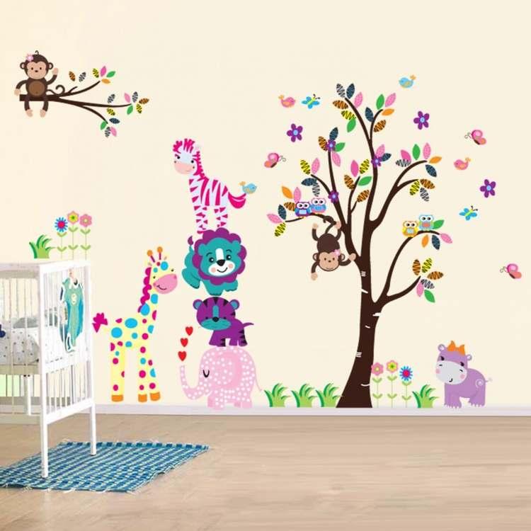 Nalepke za otroško sobo